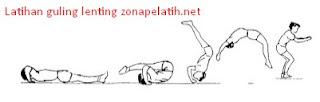 Latihan Roll Kip | Guling Lenting