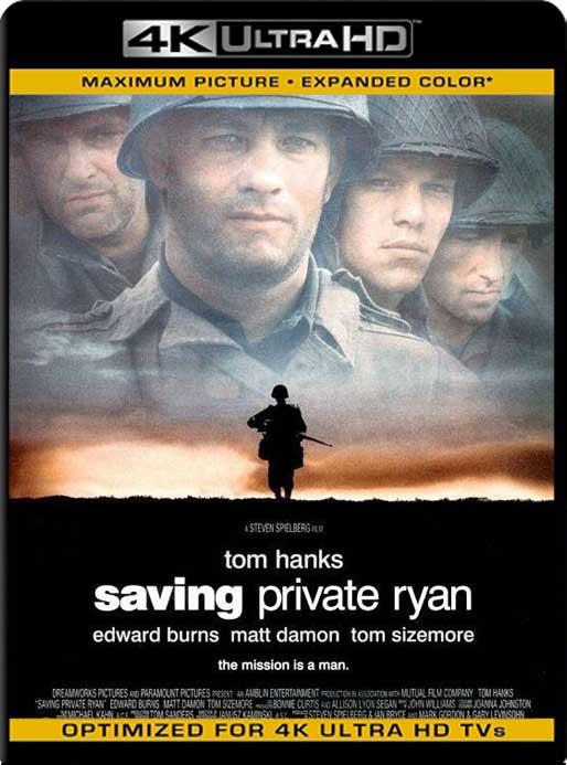 Rescatando al Soldado Ryan (1998) 4K 2160p UHD [HDR] Latino [GoogleDrive]