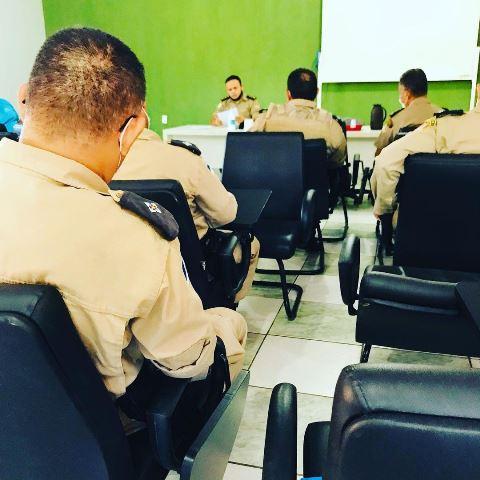 Comando do 9º Batalhão da PM reúne como oficiais da unidade em Araguatins