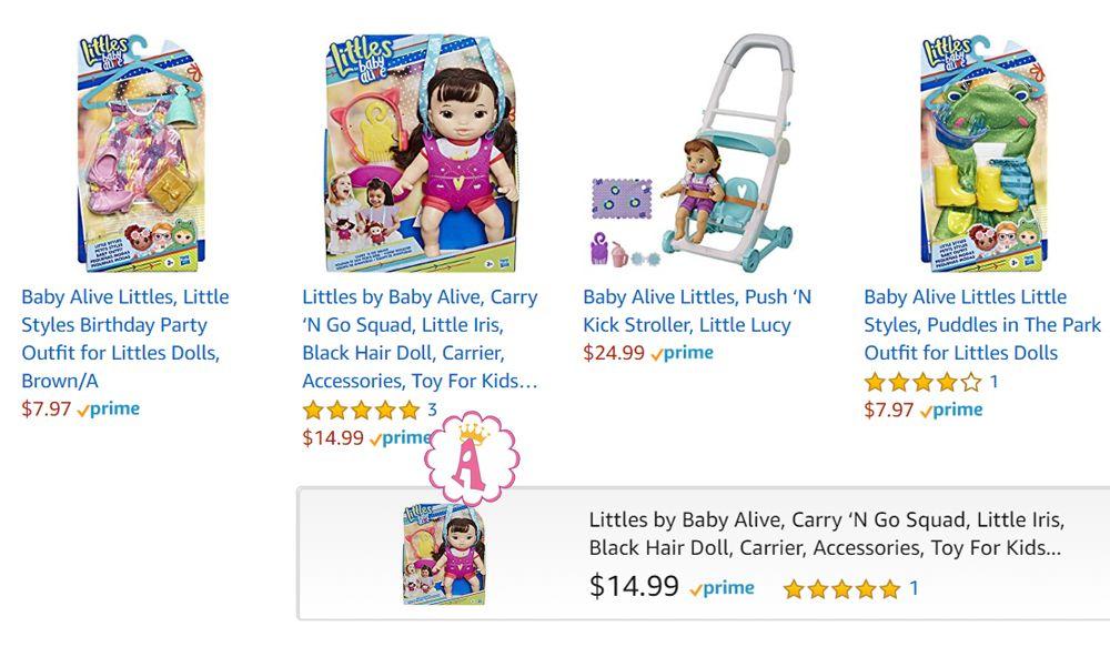 Цена пупсов Baby Alive Littles
