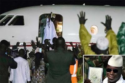 Yahya Jammeh Akhirnya Lepas Jabatan Presiden dan Tinggalkan Gambia