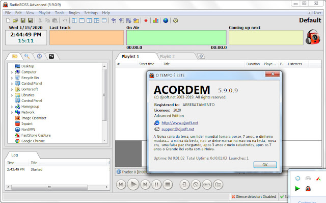Screenshot RadioBOSS Advanced 5.9.0.9 Full Version