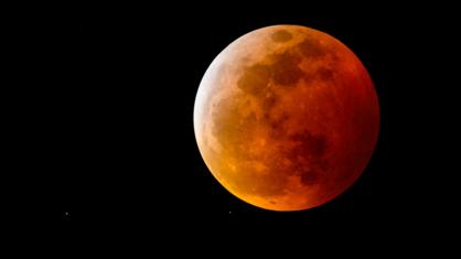 Primeiro eclipse lunar de 2021 acontece durante Super Lua.