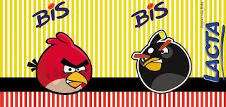 Etiquetas para Imprimir Gratis de Angry Birds.