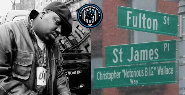 Notorious B.I.G é homenageado com nome de rua no Brooklyn