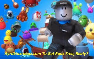 Ayrobloxrobux.com To Get Roux Free, Realy