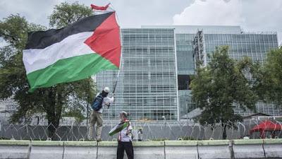 Palestina Keberatan Benderanya Dipakai untuk Unjuk Rasa di Indonesia