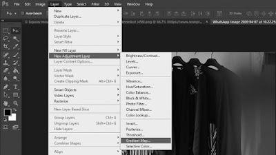 Cara Edit Foto Hitam Putih di Photoshop