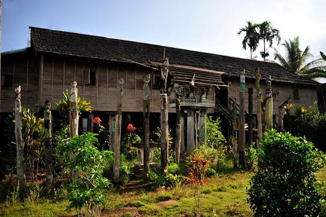 Betang Toyoi - Riwayat Desa Tumbang Malahoi