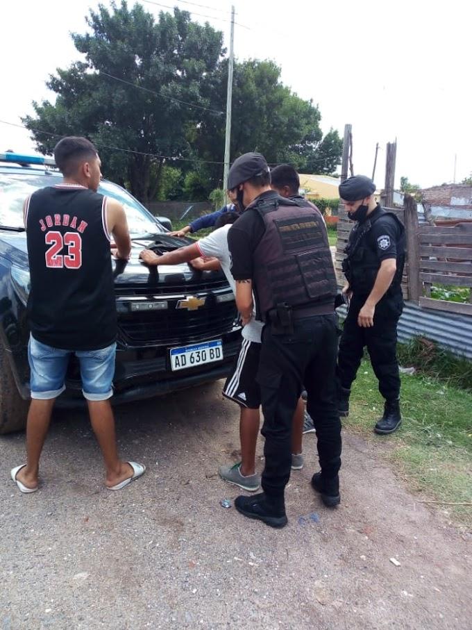 Más Policías en VGG, allanamientos, secuestro de armas y detenidos