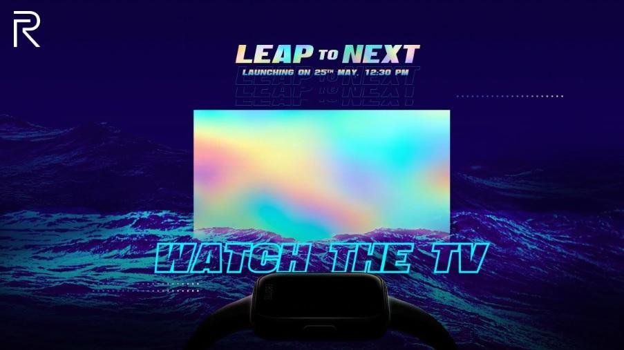 realme tv and smartwatch