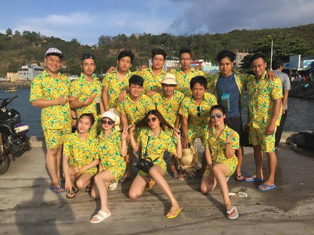 Chú ý đến thiết kế đồng phục đi biển cho team
