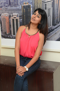 Actress Kavya Kumar Stills in Jeans at DJ Lemon Holi Poster Launch  0025.jpg