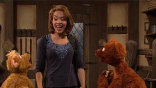 Gabi, Baby Bear, Curly Bear, Sesame Street Episode 4416 Baby Bear's New Sitter season 44