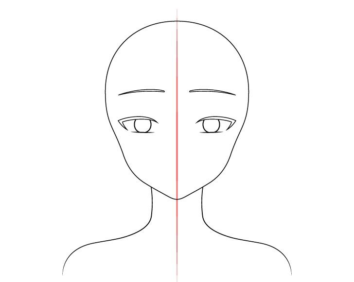Gambar alis gadis anime cantik
