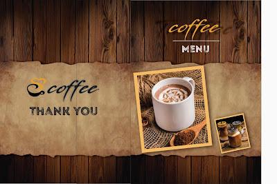 Download mẫu menu cafe đẹp