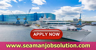 Master, C/O, 2/O, 3/O, C/E, 1/E, 2/E, 3/E, Reefer Engineer For Cruise Expedition Ship