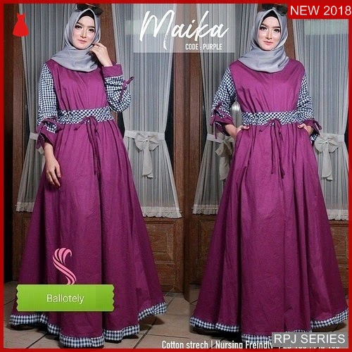 RPJ155D158 Model Dress Maika Cantik Dress Wanita