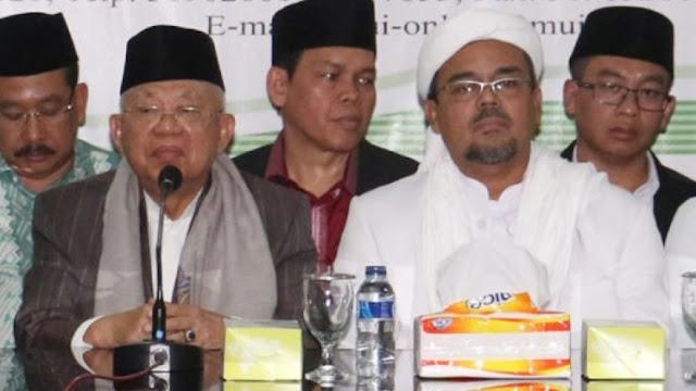 Sebagai Tokoh Islam, Wapres Maruf Disarankan Bantu Bereskan Izin FPI
