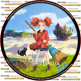 GALLETAMary and the Witch's Flower - MARY Y LA FLOR DE LA BRUJA 2018 [COVER DVD]