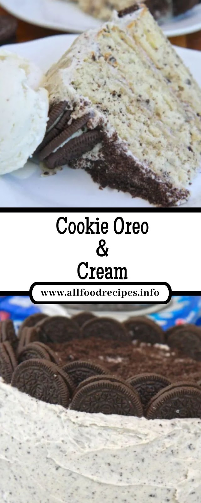 Cookie Oreo & Cream