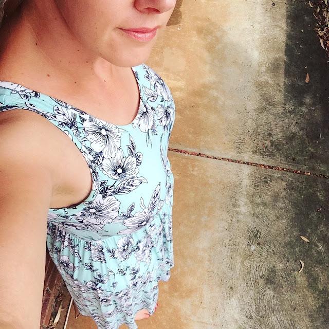 Target floral dress | Almost Posh