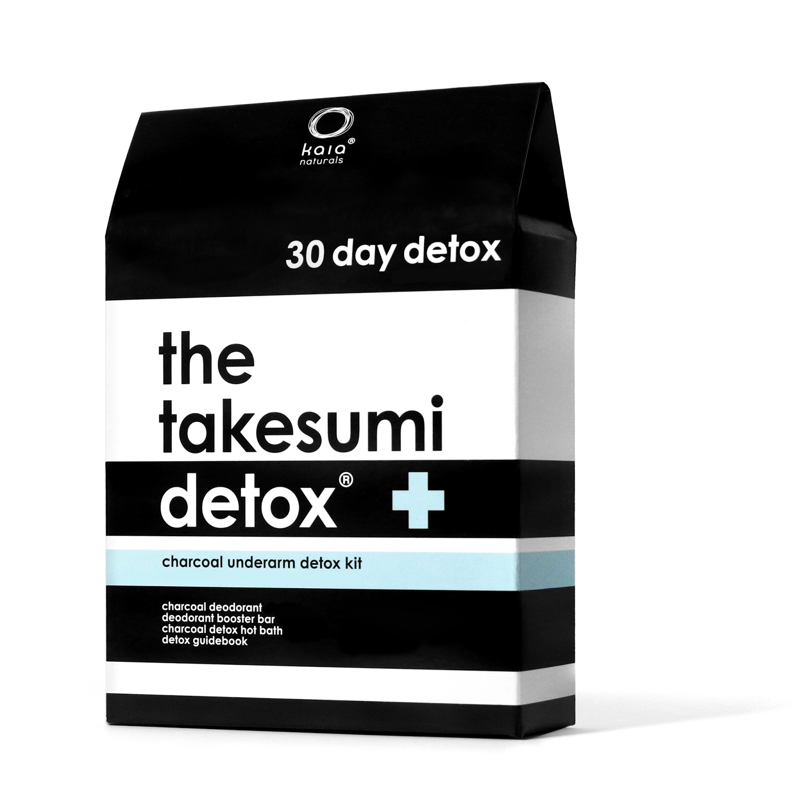 Kaia Naturals Charcoal Underarm Detox Kit