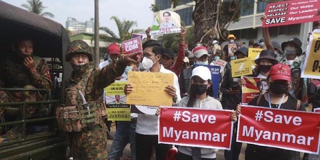Aktivis Myanmar: Kami Menentang Dan Mengutuk Indonesia Atas Rencana Mengirimkan Utusan Ke Burma
