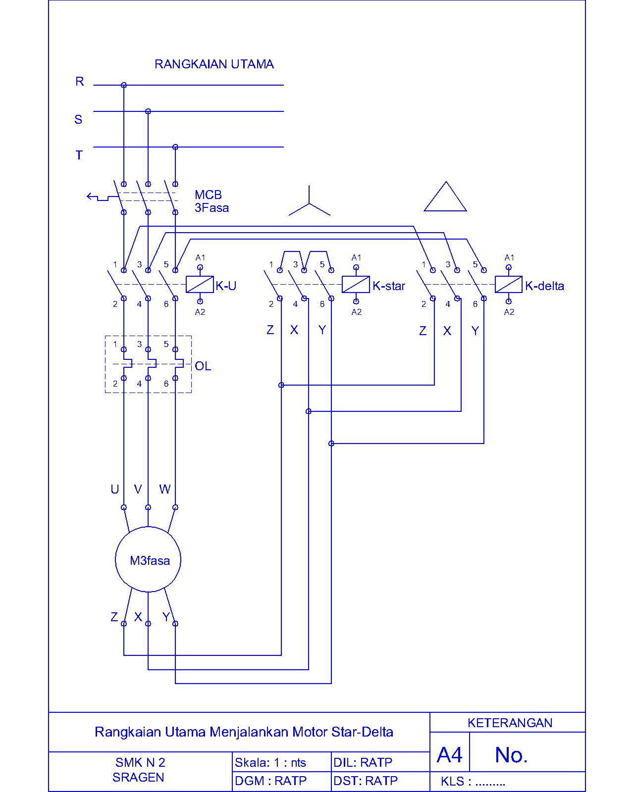 wiring diagram star delta otomatis image collections