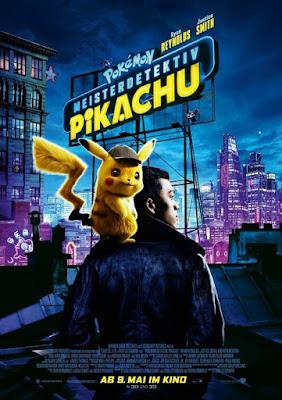 Pokémon Detective Pikachu 2019 Dual Audio HDCAM 480p 300Mb x264
