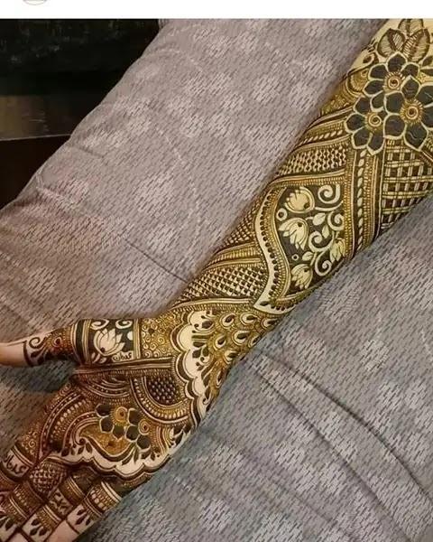 beautiful-flowers-floral-full-hands-mehndi-design