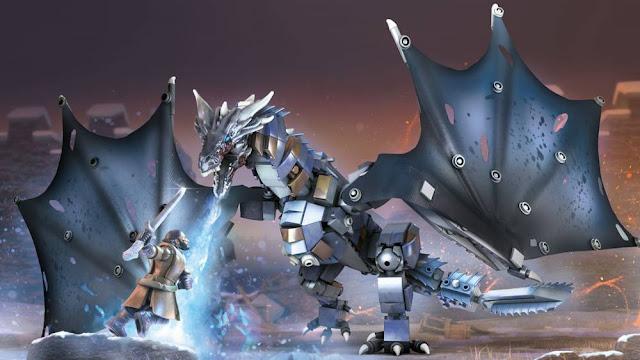 Game of Thronse: Ice Viserion Showdown
