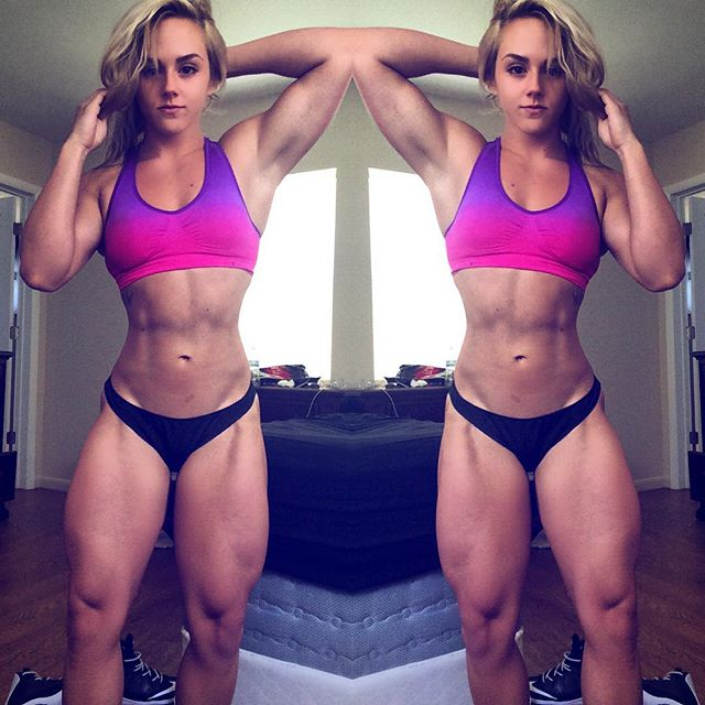 Fitness Model Rachael Frieza 01