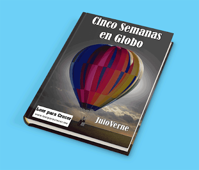 Cinco semanas en globo Julio Verne