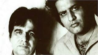 दिलीप कुमार के साथ मनोज कुमार