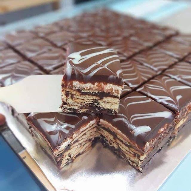 Resepi Kek Batik Sukatan Cawan Simple & Sedap