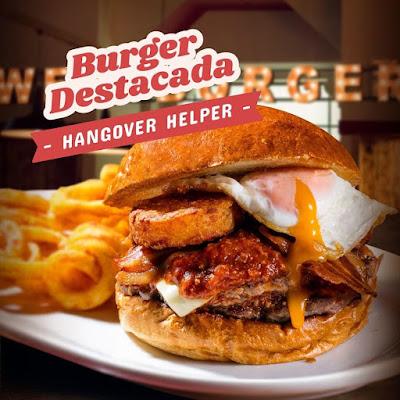 Hamburguesa de  Big Al's en Barcelona