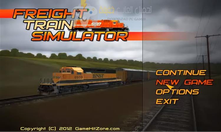 تحميل لعبة قيادة القطارات Freight Train Simulator