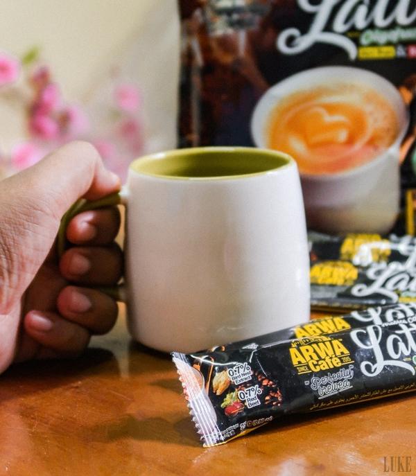 Arwa Cafe Arabia Coffee Latte with Oligofructose Birdnest & Red Beet 5