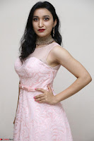 Sakshi Kakkar in beautiful light pink gown at Idem Deyyam music launch ~ Celebrities Exclusive Galleries 031.JPG