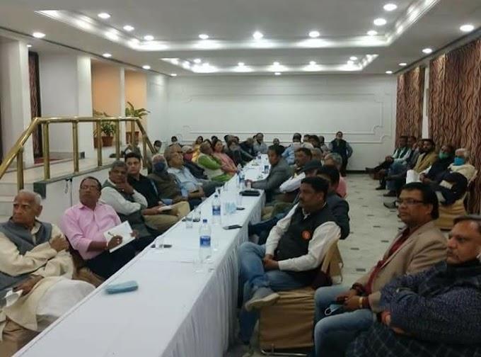 Jaipur News-  वरिष्ठ पत्रकार वीर सक्सेना की स्मृति मे राजस्थान मीडिया एक्शन फोरम की पत्रकार चर्चा आयोजित
