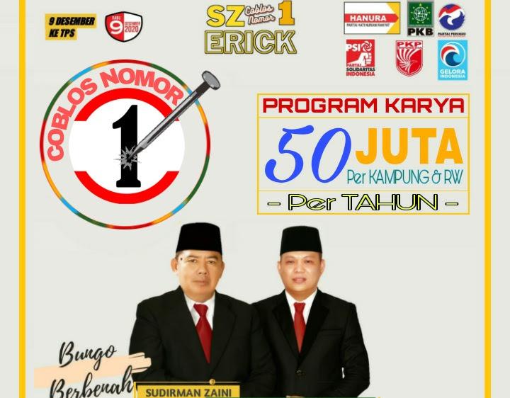 Cabup Sudirman Zaini: Program KARYA Tepat sasaran.