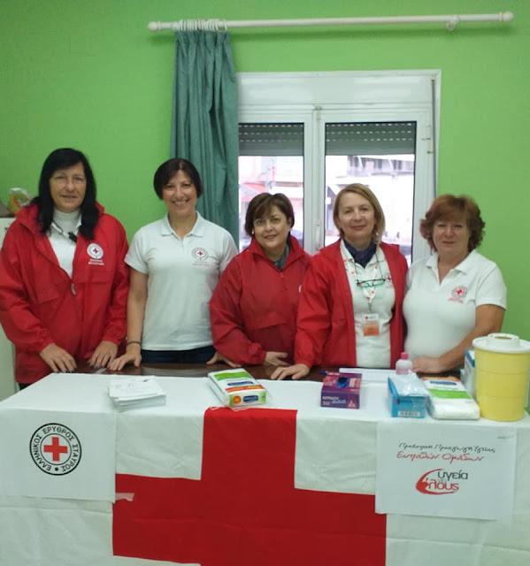 40 παιδιά Ρομά εμβολιάστηκαν από Εθελοντές του Ερυθρού Σταυρού Άργους στη Νεα Κίο