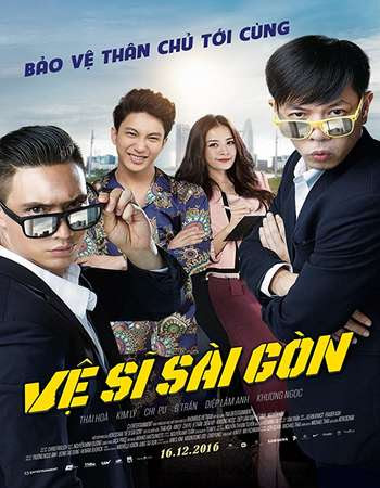 Poster Of Saigon Bodyguards 2016 Full Movie In Hindi Dubbed Download HD 100MB Vietnamese Movie For Mobiles 3gp Mp4 HEVC Watch Online