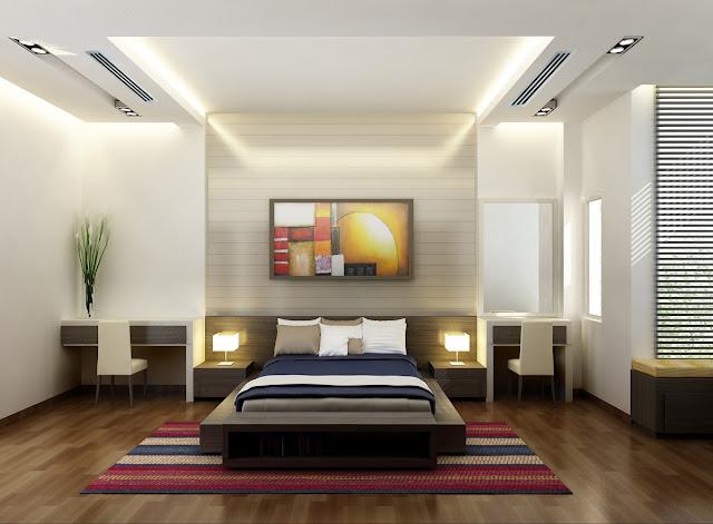 Miệng gió được thiết kế bắt mắt trong phòng ngủ