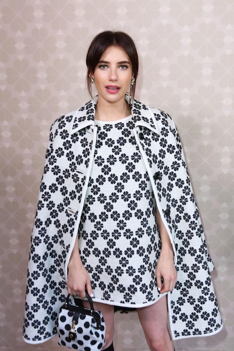 Emma Roberts Clicks at Kate Spade Fashion Show at New York Fashion Week 7 Sep-2019