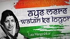 Aye Mere Vatan Ke Logon Song Lyrics-Video-Lata-Mangeshkar