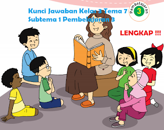 Kunci Jawaban Kelas 3 Tema 7 Subtema 1 Pembelajaran 3 www.simplenews.me