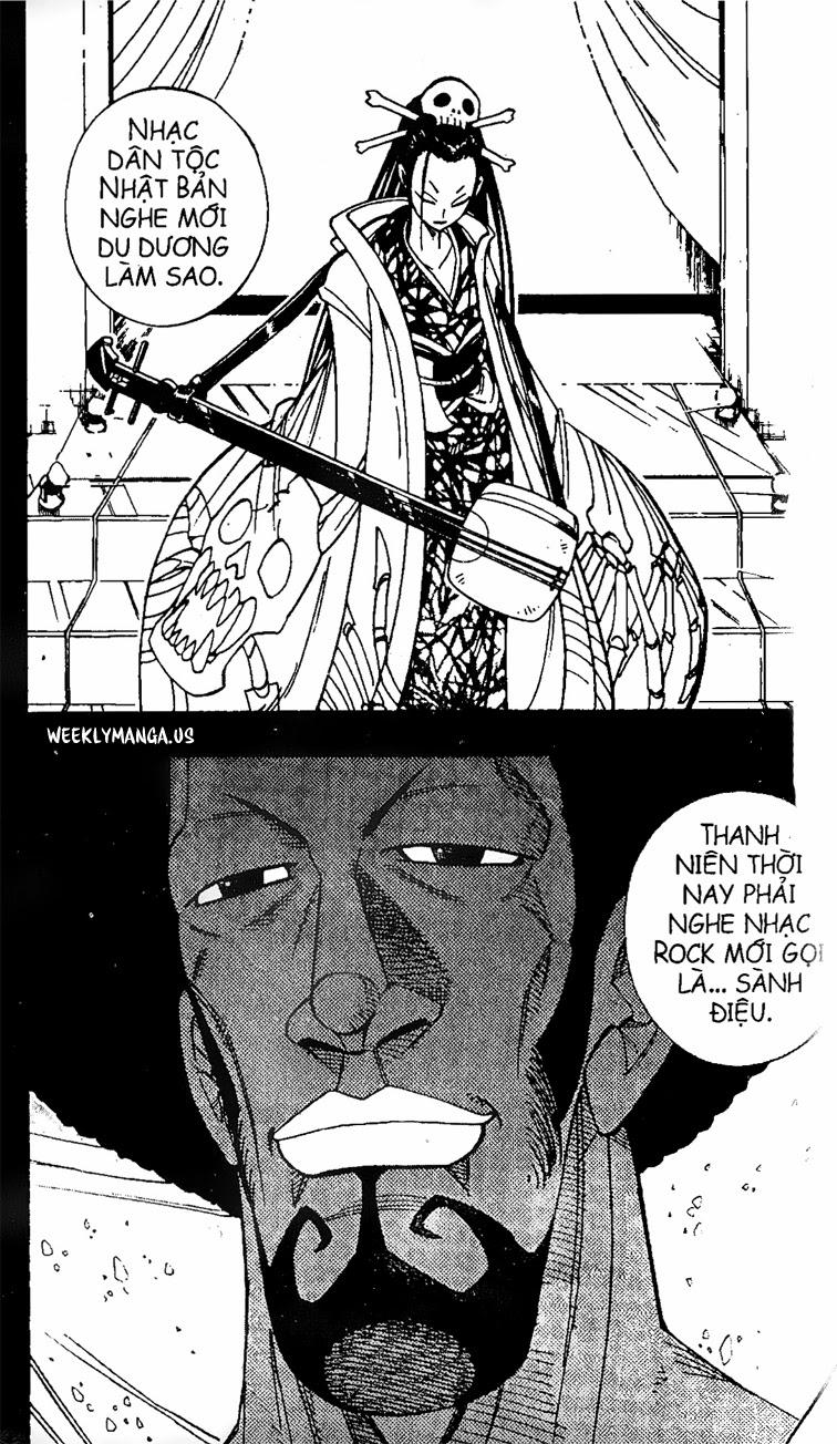 Shaman King [Vua pháp thuật] chap 170 trang 8