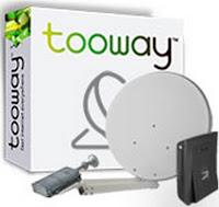 Internet satellitare con Tooway: tariffe, prezzi e opinioni